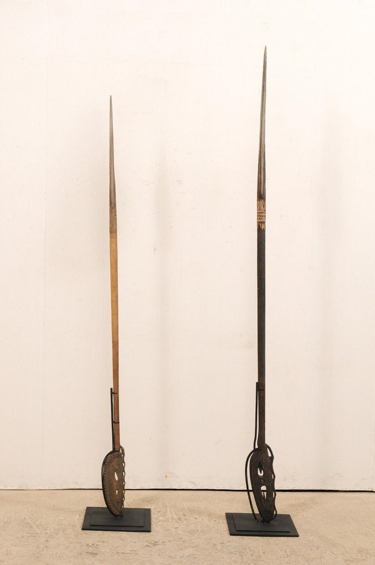 Papua New Guinea Carved Paddles For Sale 4