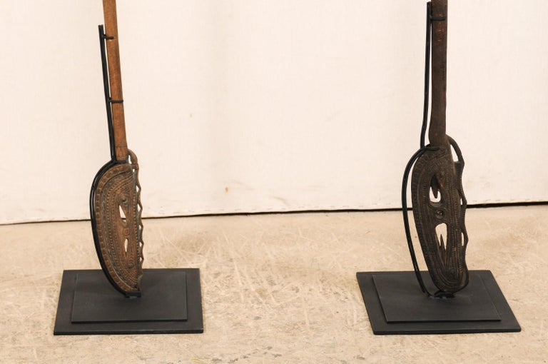 Papua New Guinea Carved Paddles For Sale 5