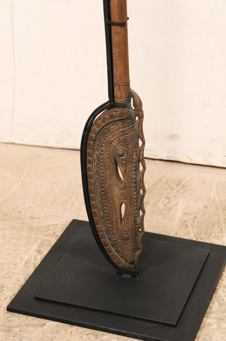 Papua New Guinea Carved Paddles For Sale 6