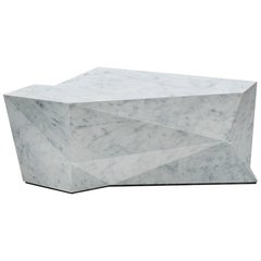 Parade White Marble Coffee Table