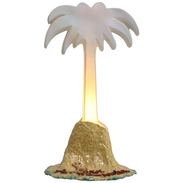 'Paradise i' Palmtree Lighting Sculpture by Daan Gielis For Sale