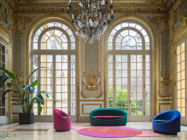 Paradisoterrestre All Around Carpet in Pink by Pierre Gonalons  In New Condition For Sale In New York, NY