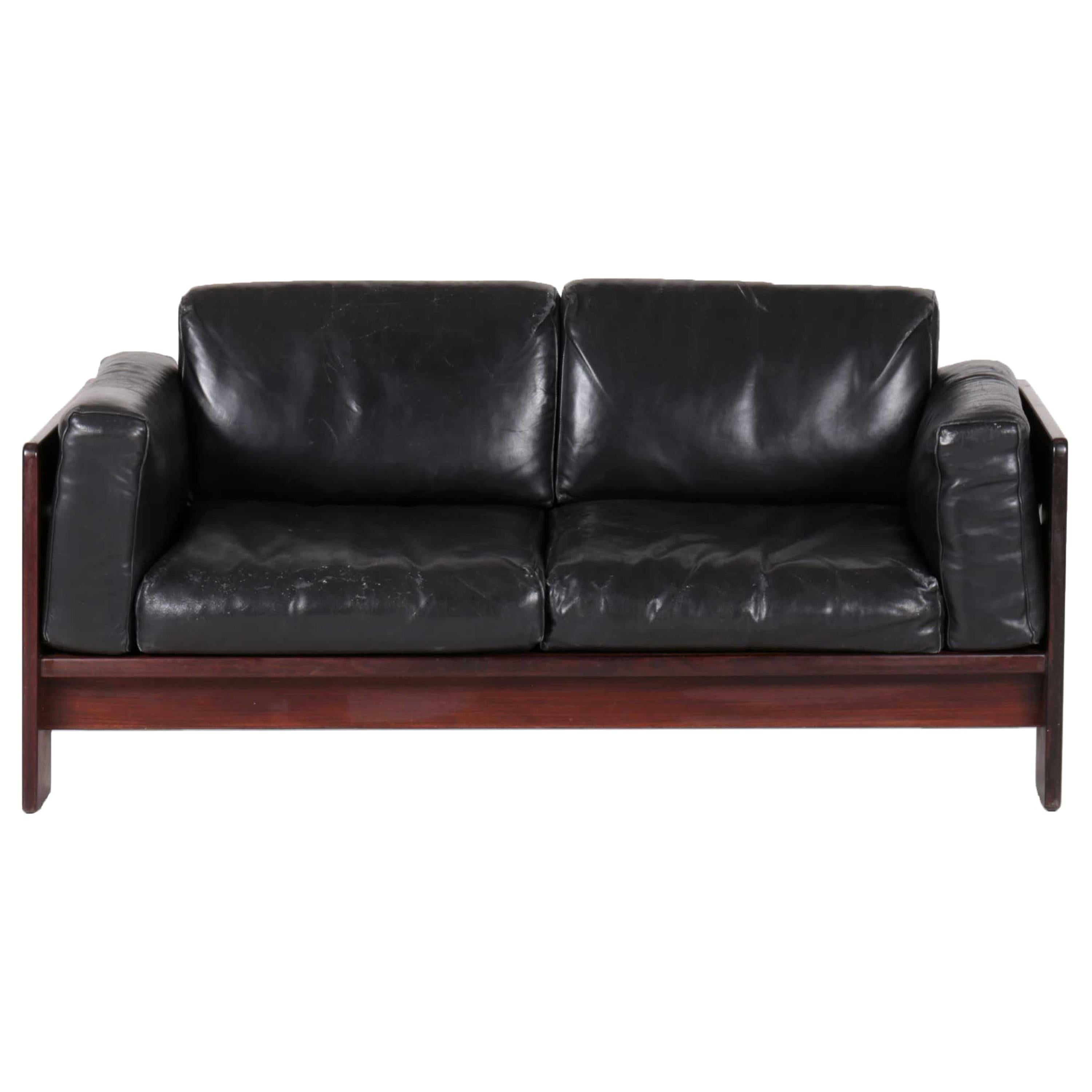 Bastiano 2 Seater Sofa in Wood by Tobia Scarpa