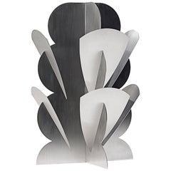 Paradisoterrestre Fiori Futuristi Dianto 120 in Mirror Steel by Giacomo Balla