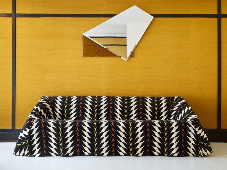 Italian Paradisoterrestre Mantilla Sofa 225 in Fiori Fabric by Kazuhide Takahama For Sale