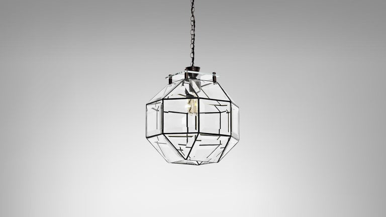 Modern Paragon Pendant by CTO Lighting For Sale