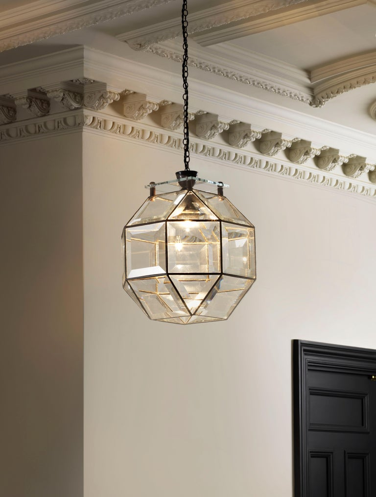 British Paragon Pendant by CTO Lighting For Sale
