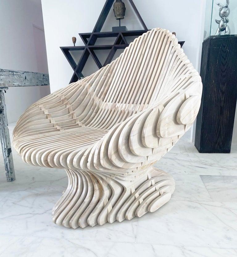 American Parametric Morphogen King Throne For Sale