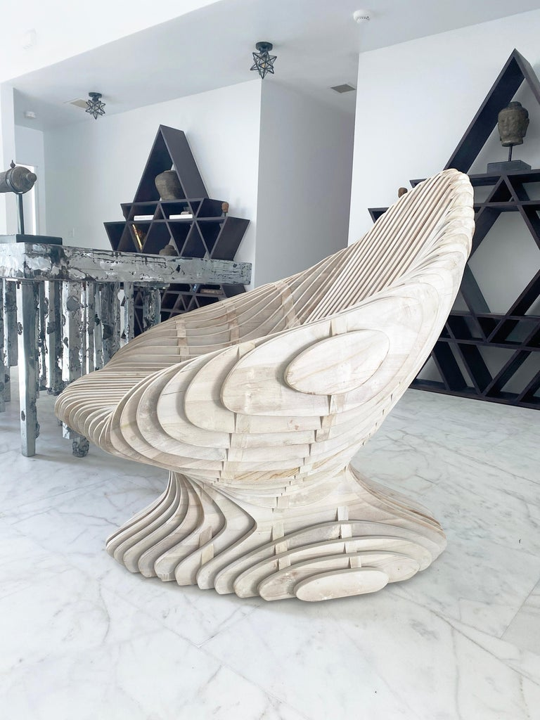 American Parametric Morphogen King Throne For Sale