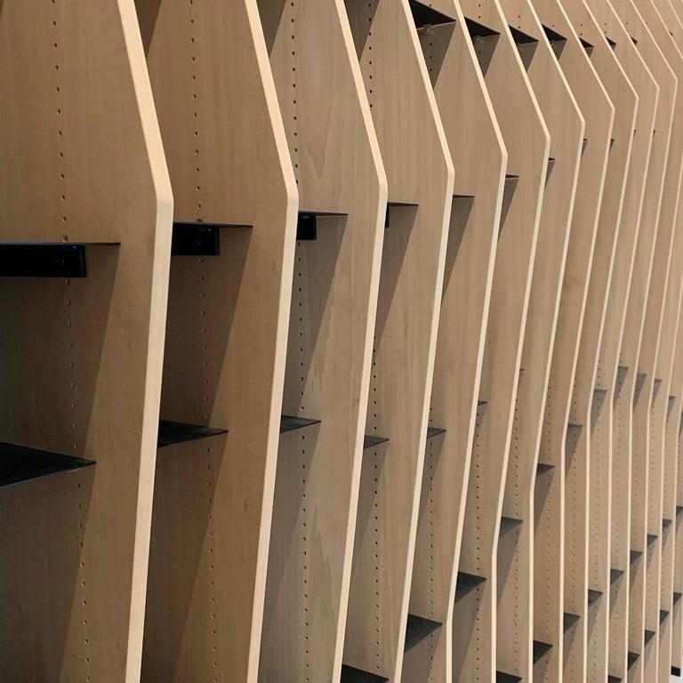 Modern Parametrica Bookcase For Sale