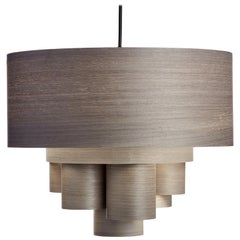 PARAMOUNT Custom Wood Drum Chandelier Pendant