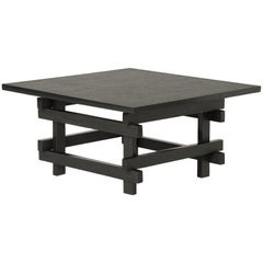 Paranoid N02, 21st Century Coffee Table in Grey Handcutted Slate
