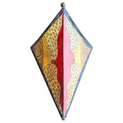 Parchment African Art Wall Sconce