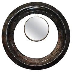 Parchment Convex Mirror