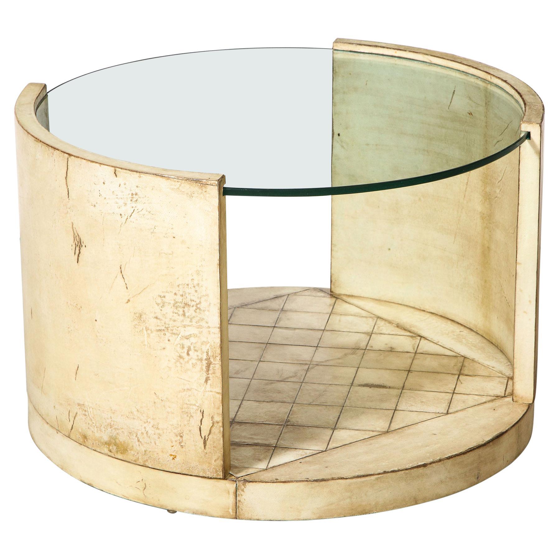 Parchment Low Table