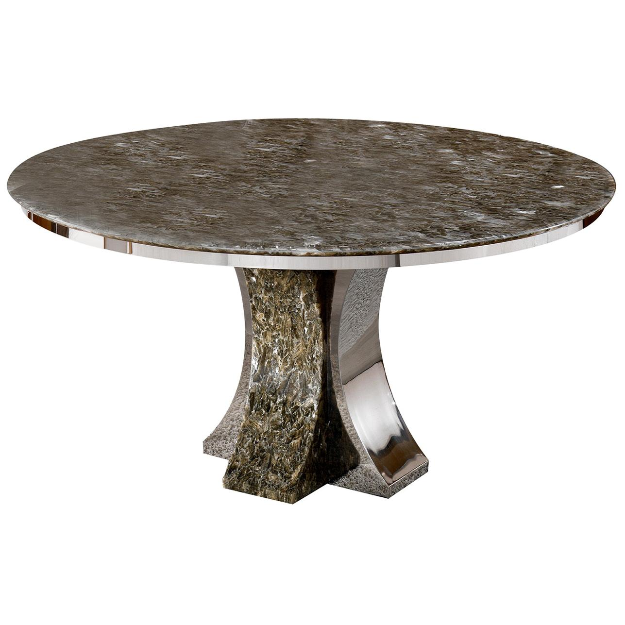 Parenthesis Round Dining Table