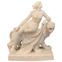 "Parian ""Ariadne and the Panther"" After John Bell, Attributed to Mintons"
