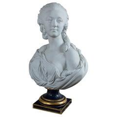 Parian Bust of Madame Du Barry