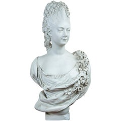 Parian Bust of Mme, Adelaide