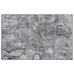 Schumacher Paris Natural Cork La Cité 1734 Wallpaper French Photograph Mural