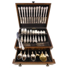 Paris by Gorham Sterling Silver Flatware Set for 12 Service 93 Piece Dinner Size