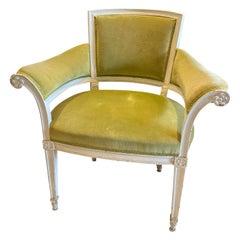 Paris France Vintage Armchair
