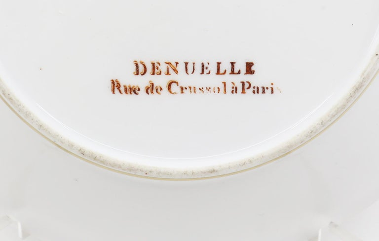 Paris Plate, 19th Century French Porcelain For Sale 2