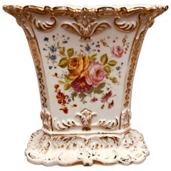 Paris Porcelain Rectangular Spill Vase