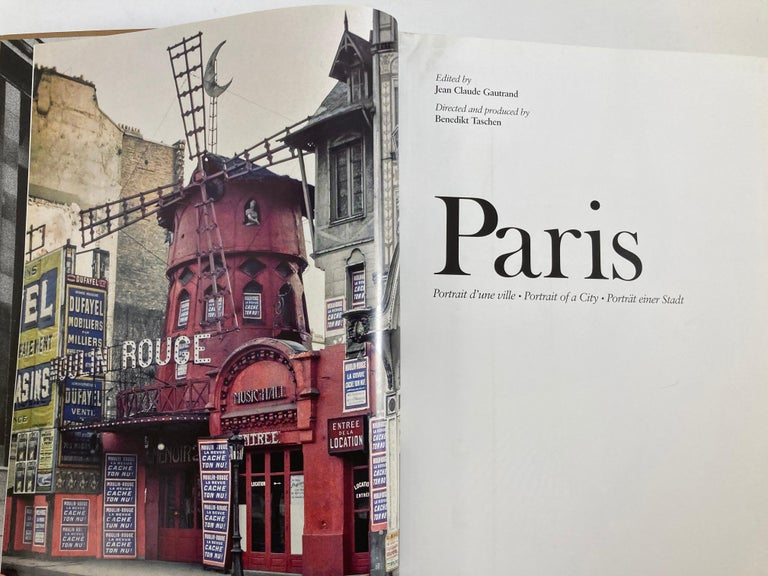 Paris, Portrait of a City Tashen Hardcover Book In Good Condition For Sale In North Hollywood, CA