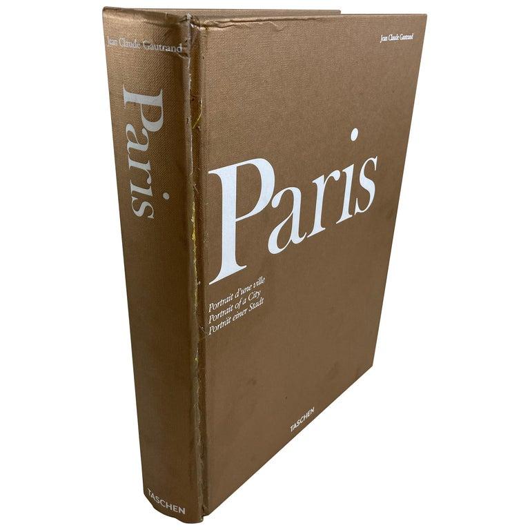 Paris, Portrait of a City Tashen Hardcover Book For Sale