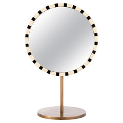 Paris Table Mirror Black and White by Matteo Cibic