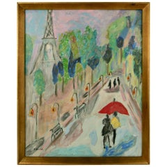 ART SALE UP TO 50% OFF SELECTED ITEMS Paris Street Scene Painting