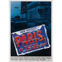 """Paris Texas"" Original German Movie Poster"