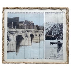 Paris 'The Pont Neuf, Wrapped' Print, Photo Eeva-Inkeri 1985 Christo