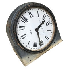 Paris Train Wall Clock Authentic French Paul Garnier Operational