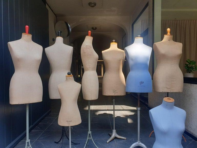 French Parisian Haute Couture Mannequin Figure Sculptures For Sale