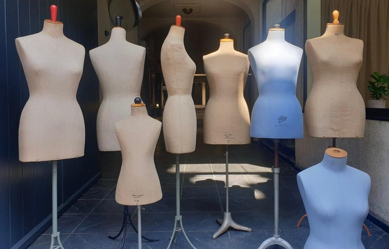 Parisian Haute Couture Mannequin Figure Sculptures In Good Condition For Sale In Antwerp, BE