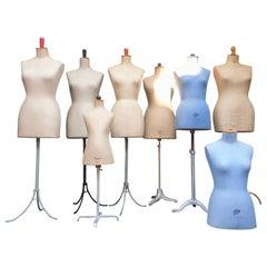 Parisian Haute Couture Mannequin Figure Sculptures