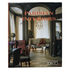 Parisian Interiors By The Editors of Elle Decor Hardcover Book