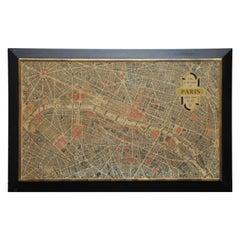 Parisian Street Map