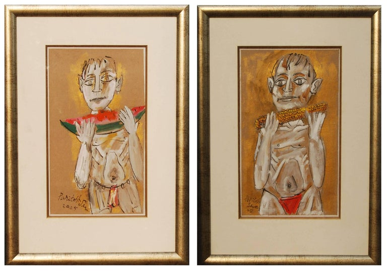 Indian Artist Paritosh Sen, influenced by the great Picasso and was his student