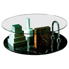 Park Coffee Table by Ettore Sottsass for Memphis Milano Collection