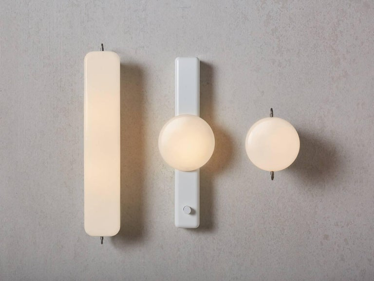 Powder-Coated Park I Wall Sconce For Sale