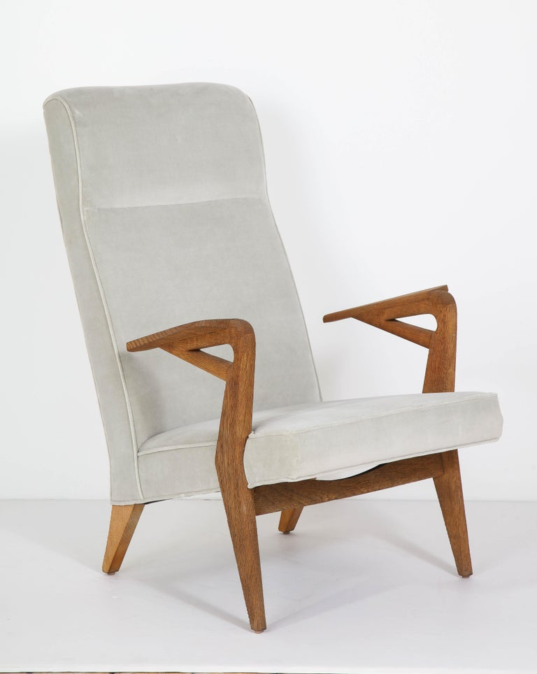 Mid-Century Modern Parker-Knoll Oak Armchairs For Sale