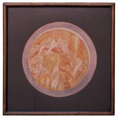 """Parker Panttila """"Passion Eclipsing Enlightenment Don Juan"""" Watercolor"""