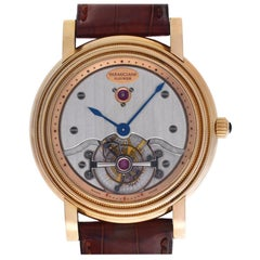 Parmigiani Fleurier Toric PF000383 18 Karat Rose Gold Tourbillon Manual Wind