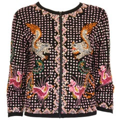 P.a.r.o.s.h. Embroidered Sequins Jacket