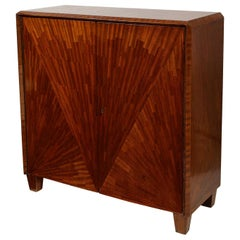 Parquetry Cabinet in the Jean-Michel Frank Manner
