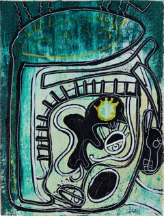 The Other Mask - Surrealist Figurative Painting