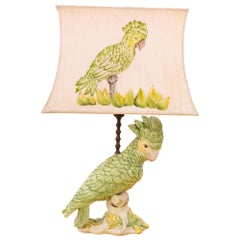 Parrot Table Lamp, Italy, 1960s